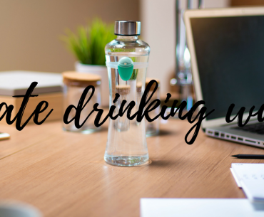 Mini Post:  Drink More Water