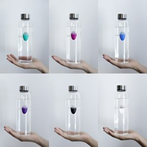 6 water bottles with 6 different color Ullas